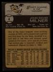 1973 Topps #4  John Milner  Back Thumbnail