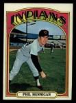 1972 Topps #748  Phil Hennigan  Front Thumbnail