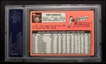 1969 Topps #501 *WN* Tony Gonzalez  Back Thumbnail