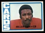 1972 Topps #327  Miller Farr  Front Thumbnail