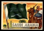 1956 Topps Flags of the World #30   Saudi Arabia Front Thumbnail