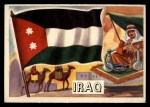 1956 Topps Flags of the World #43   Iraq Front Thumbnail