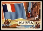 1956 Topps Flags of the World #51   Algeria Front Thumbnail