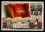 1956 Topps Flags of the World #5   Ceylon Front Thumbnail
