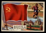 1956 Topps Flags of the World #23   Russia Front Thumbnail