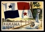 1956 Topps Flags of the World #22   Panama Front Thumbnail