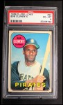 1969 O-Pee-Chee #50  Roberto Clemente  Front Thumbnail