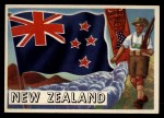 1956 Topps Flags of the World #68   New Zealand Front Thumbnail