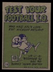 1972 Topps #119   -  Jim Nance Pro Action Back Thumbnail