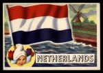 1956 Topps Flags of the World #76   Netherlands Front Thumbnail