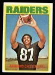 1972 Topps #143  Raymond Chester  Front Thumbnail