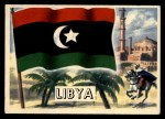1956 Topps Flags of the World #64   Libya Front Thumbnail