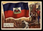 1956 Topps Flags of the World #16   Haiti Front Thumbnail