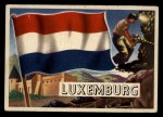 1956 Topps Flags of the World #56   Luxemburg Front Thumbnail