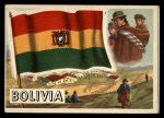 1956 Topps Flags of the World #10   Boliva Front Thumbnail