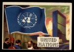 1956 Topps Flags of the World #80   United Nations Front Thumbnail