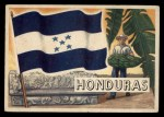 1956 Topps Flags of the World #8   Honduras Front Thumbnail