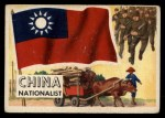 1956 Topps Flags of the World #18   China ( Nationalist ) Front Thumbnail