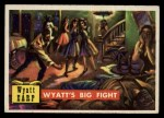 1956 Topps Round Up #35   -  Wyatt Earp  Wyatts Big Fight Front Thumbnail