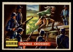 1956 Topps Round Up #64   -  Geronimo  Double Crossed Front Thumbnail