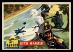1956 Topps Round Up #79   -  Kit Carson Kits Gamble Front Thumbnail