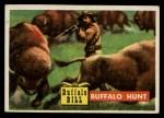 1956 Topps Round Up #24   -  Buffalo Bill Buffalo Hunt Front Thumbnail