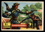 1956 Topps Round Up #78   -  Kit Carson Surrounded Front Thumbnail