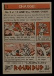 1956 Topps Round Up #2   -  Wild Bill Hickok  Charge Back Thumbnail