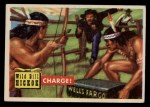 1956 Topps Round Up #2   -  Wild Bill Hickok  Charge Front Thumbnail
