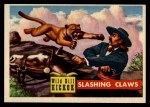 1956 Topps Round Up #3   -  Wild Bill Hickok  Slashing Claws Front Thumbnail