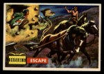 1956 Topps Round Up #65   -  Geronimo  Escape Front Thumbnail