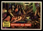 1956 Topps Round Up #35   -  Wyatt Earp  Wyatts Big Fight Front Thumbnail