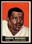 1961 Topps #171  Ernie Wright  Front Thumbnail