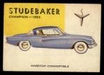 1954 Topps World on Wheels #93   Studebaker Champion 1953 Front Thumbnail