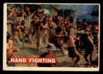 1956 Topps Davy Crockett #20 ORG  Hand Fighting  Front Thumbnail