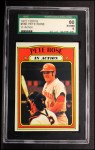 1972 Topps #560   -  Pete Rose In Action Front Thumbnail