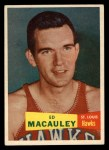 1957 Topps #27  Ed Macauley  Front Thumbnail