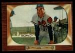 1955 Bowman #102  Bobby Thomson  Front Thumbnail