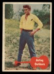 1956 Topps / Bubbles Inc Elvis Presley #28   Acting Outdoors Front Thumbnail