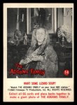 1964 Donruss Addams Family #14 AM  Want some lizard soup? Front Thumbnail