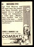 1964 Donruss Combat #61   Watching Eyes Back Thumbnail