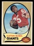 1970 Topps #157  Clifton McNeil  Front Thumbnail