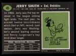 1969 Topps #45  Jerry Smith  Back Thumbnail