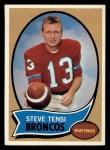 1970 Topps #39  Steve Tensi  Front Thumbnail