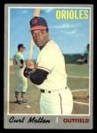 1970 Topps #261  Curt Motton  Front Thumbnail