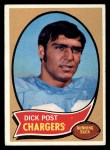 1970 Topps #97  Dick Post  Front Thumbnail