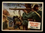 1954 Topps Scoop #18   World War Declared Front Thumbnail