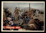 1956 Topps Davy Crockett #75 ORG  Travis Hit  Front Thumbnail