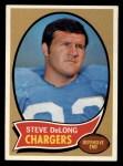 1970 Topps #49  Steve DeLong     Front Thumbnail