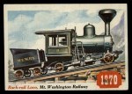 1955 Topps Rails & Sails #27   Rack-Rail Locomotive Front Thumbnail